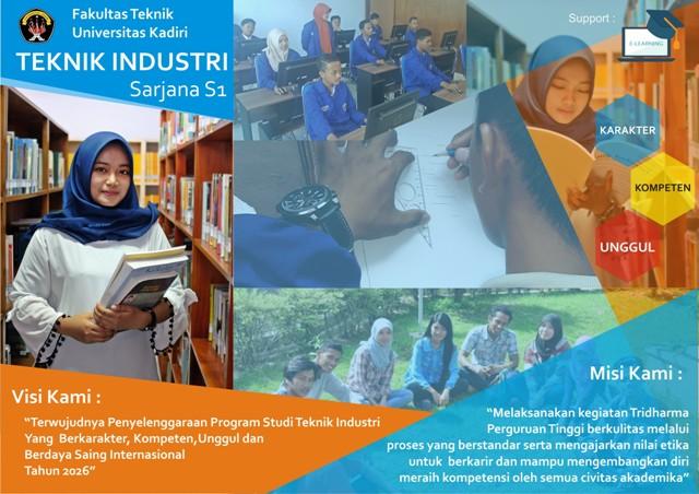 Ayoo segera bergabung bersama kami, di Teknik Industri Universitas Kadiri Tahun 2021
